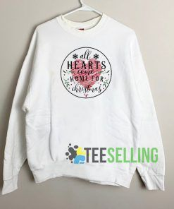 All Hearts Come On For Christmas Sweatshirt Unisex Adult