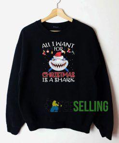 All I Want For Chrismast Sweatshirt Unisex Adult