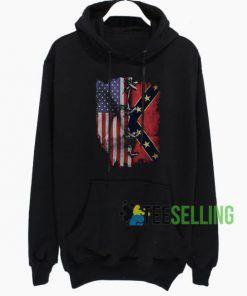 American Flag Hoodie Adult Unisex