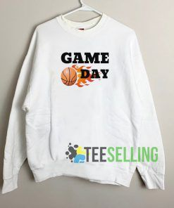 Basketball Game Day Sweatshirt Unisex Adult