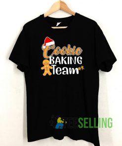 Christmas Baking Team T shirt Adult Unisex Size S-3XL