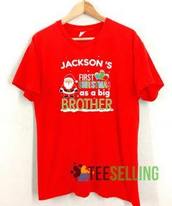 Christmas Big Brother T shirt Adult Unisex Size S-3XL