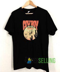 Cow Boy T shirt Adult Unisex Size S-3XL