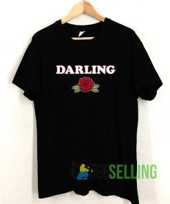 Darling Rose T shirt Adult Unisex Size S-3XL