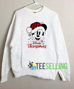 Disney Christmas Sweatshirt Unisex Adult