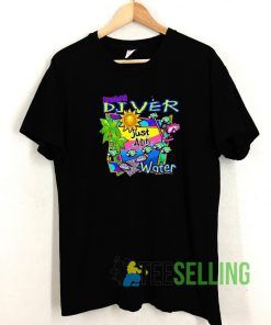 Diver Just Add Water T shirt Adult Unisex Size S-3XL