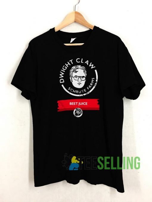 Dwight Claw Schrute Farms T shirt Adult Unisex Size S 3XL