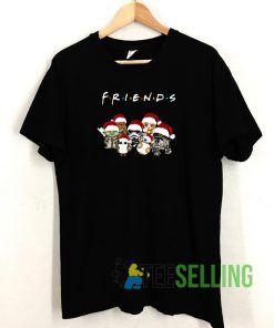 Friends Christmas T shirt Adult Unisex Size S-3XL