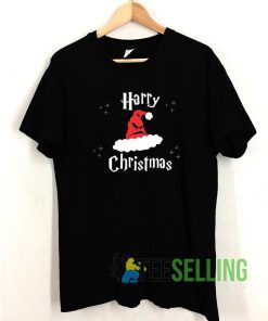 Harry Christmas T shirt Adult Unisex Size S-3XL