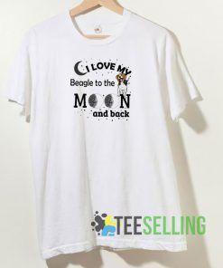 I Love My Beagle T shirt Adult Unisex Size S-3XL