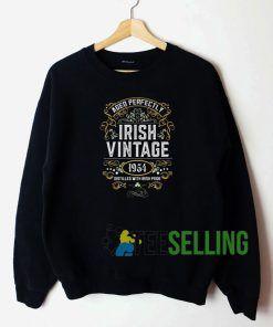 Irish Vintage Sweatshirt Unisex Adult