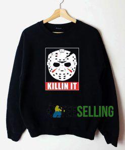 Jason Killin It Sweatshirt Unisex Adult