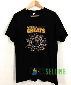 Steelers All Time Greats T shirt Adult Unisex Size S-3XL
