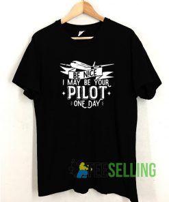 Vintage Pilot T shirt Adult Unisex Size S-3XL