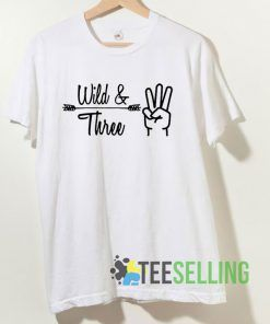 Wild And Three T shirt Adult Unisex Size S-3XL
