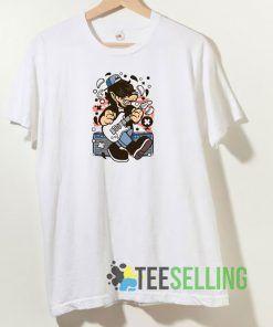 Wolf Rocker T shirt Adult Unisex Size S-3XL