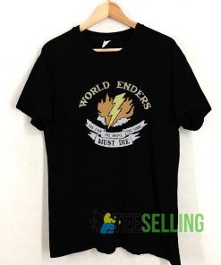 World Enders T shirt Adult Unisex Size S-3XL