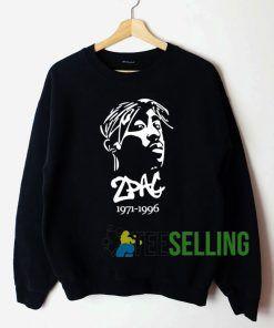 2Pac 1971-1996 Sweatshirt Unisex Adult