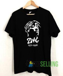 2Pac 1971-1996 T shirt Adult Unisex Size S-3XL