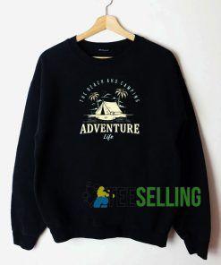 Adventure Camping Sweatshirt Unisex Adult