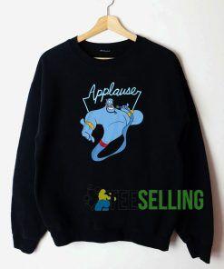 Aladdin Genie Applause Sweatshirt Unisex Adult