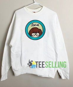 Daria Cartoon Circle Sweatshirt Unisex Adult