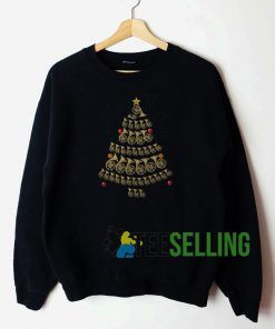 French Horn Christmas Sweatshirt Unisex Adult