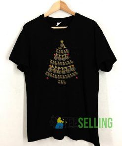 French Horn Christmas T shirt Adult Unisex Size S-3XL