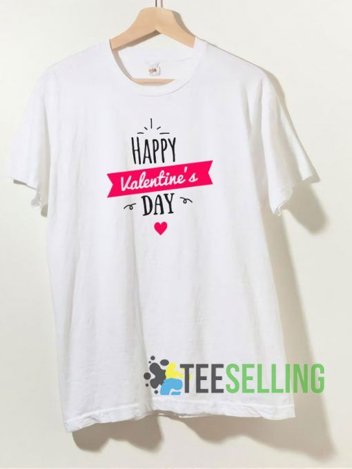 Happy Valentines Day Love T shirt Adult Unisex Size S 3XL