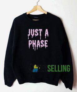 Just A Phase Sweatshirt Unisex Adult