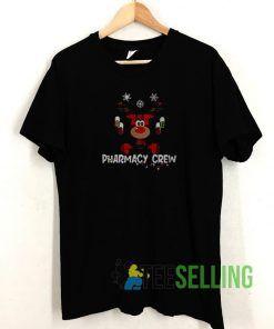 Reindeer Pharmacy Crew T shirt Adult Unisex Size S-3XL