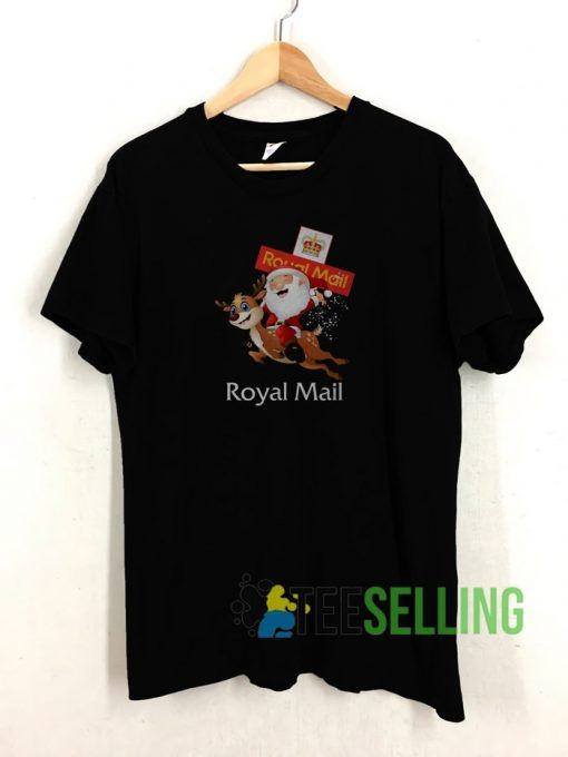 Reindeer Royal Mail T shirt Adult Unisex Size S 3XL