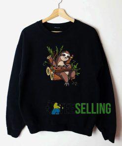 Sloth Sushi Lover Unisex Sweatshirt Unisex Adult