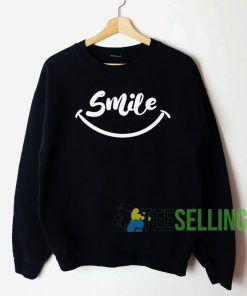 Smile Sweatshirt Unisex Adult