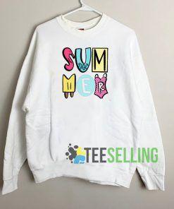 Summer Beach Sweatshirt Unisex Adult