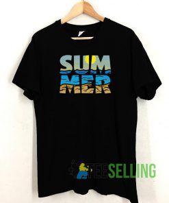 Summer Sunset T shirt Adult Unisex Size S-3XL