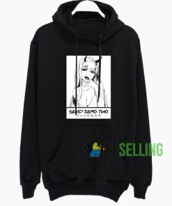 Zero Two Darling In The Franxx Hoodie Adult Unisex