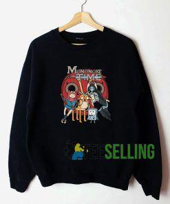 Adventure Time x Princess Mononoke Unisex Sweatshirt Unisex Adult