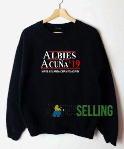 Albies Acuna 2019 Unisex Sweatshirt Unisex Adult