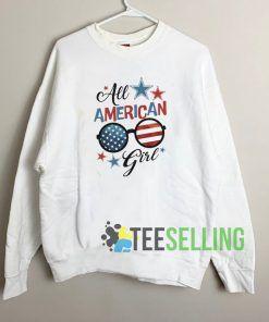 All American Girl Unisex Sweatshirt Unisex Adult