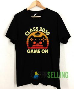 Class Of 2030 Game On T shirt Adult Unisex Size S-3XL