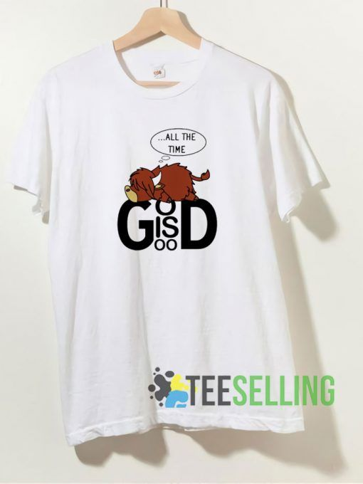 Cow All The Time God T shirt Adult Unisex Size S-3XL