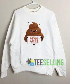 Free Hugs Unisex Sweatshirt Unisex Adult