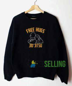 Free hugs Jiu Jitsu Unisex Sweatshirt Unisex Adult