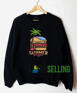 Summer Burger Unisex Sweatshirt Unisex Adult