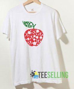 Teacher Apple T shirt Adult Unisex Size S-3XL