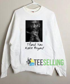 Thank You Kobe Bryant Unisex Sweatshirt Unisex Adult