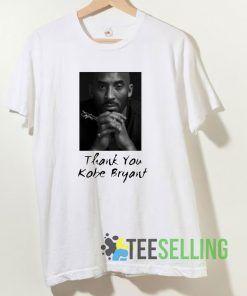 Thank You Kobe Bryant T shirt Adult Unisex Size S-3XL
