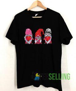 Three Gnomes Valentines T shirt Adult Unisex Size S-3XL