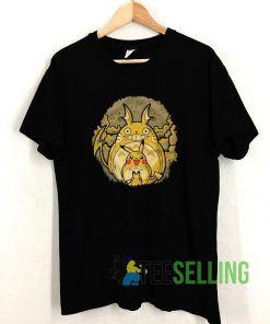 Totoro And Pikachu Mashup T shirt Adult Unisex Size S-3XL